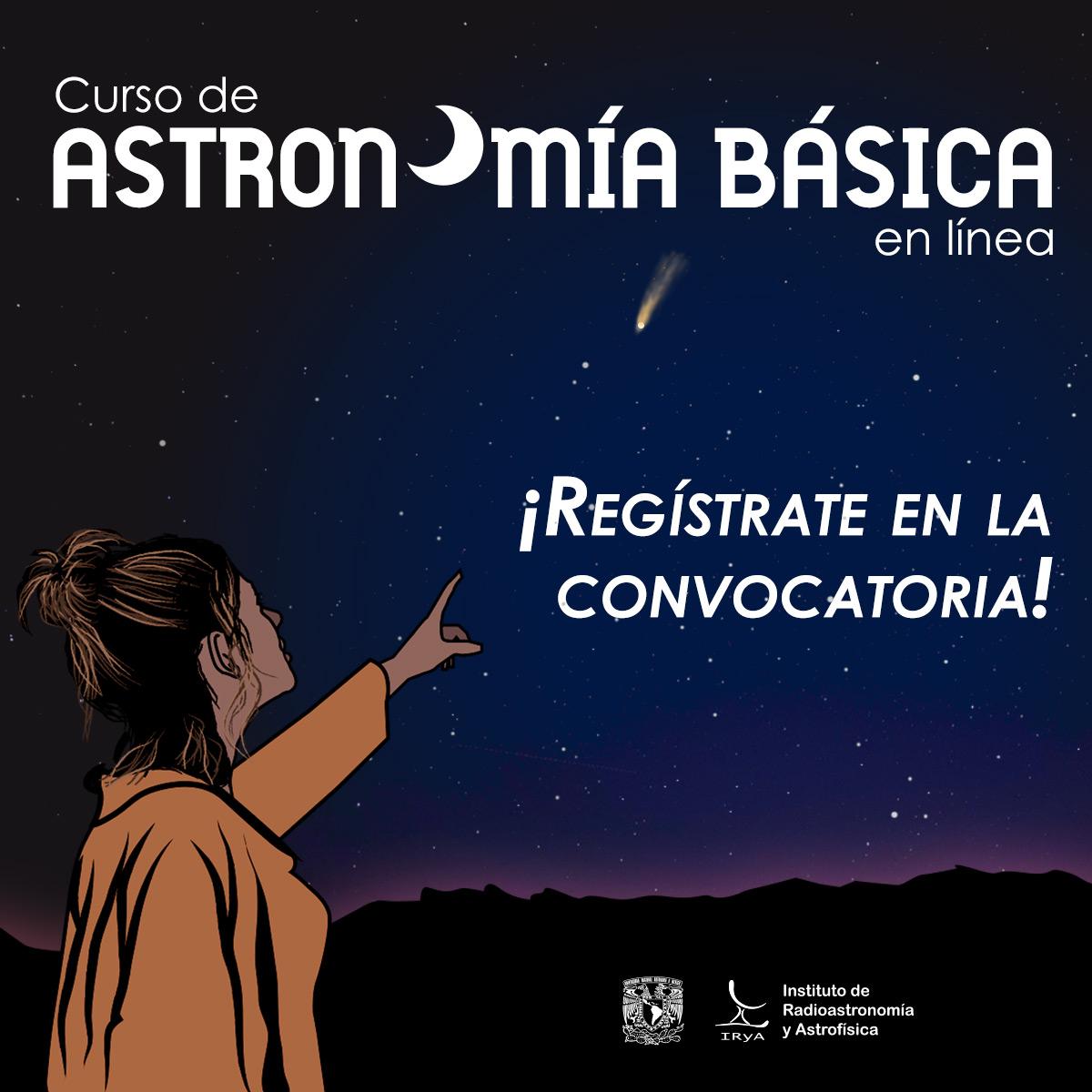 UNAM campus Morelia invita al Curso de Astronomía Básica 2020