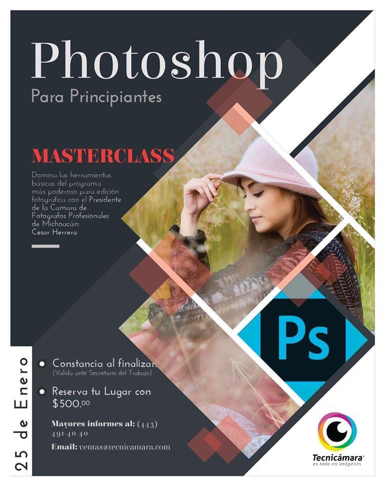 Clase maestra en Photoshop