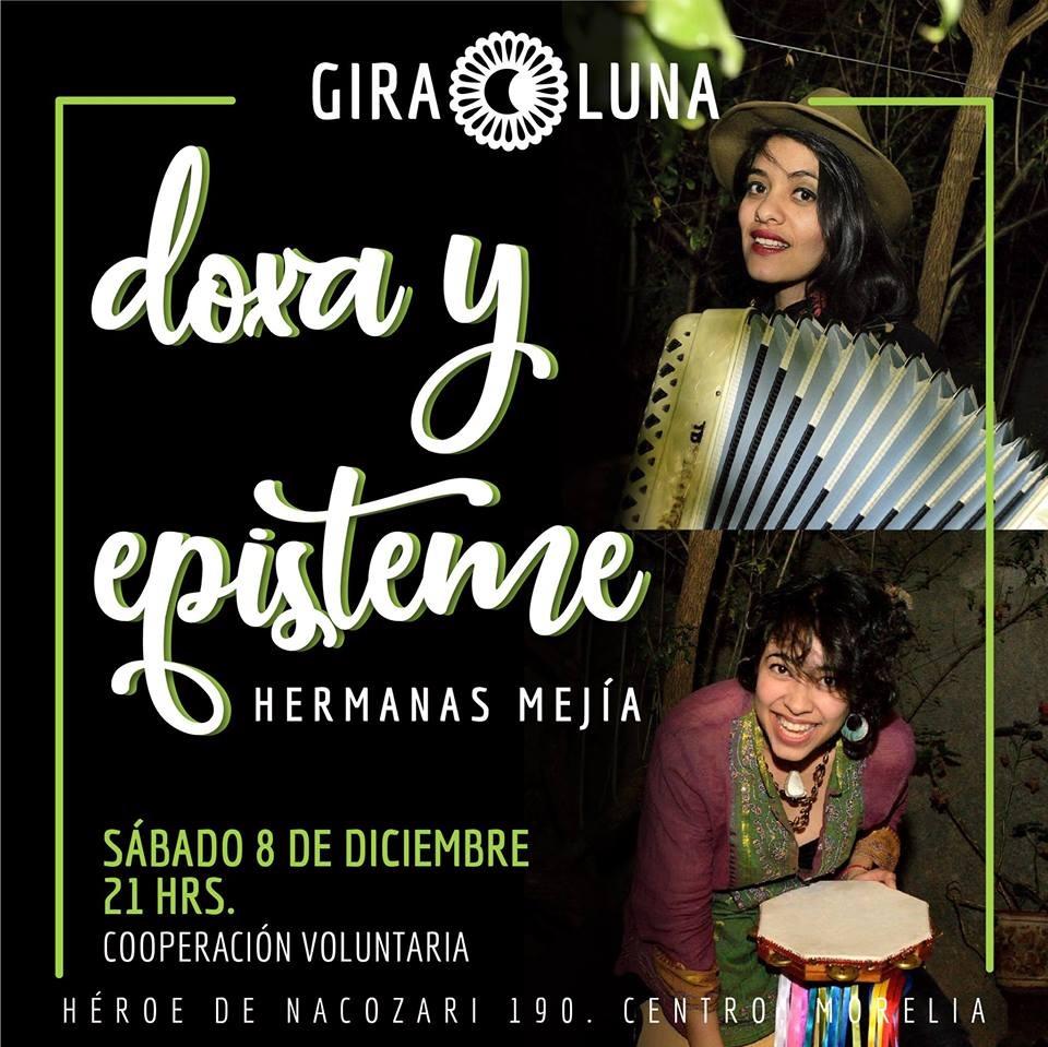 Presentación de Doxa y Episteme - Hermanas Mejía en Giraluna