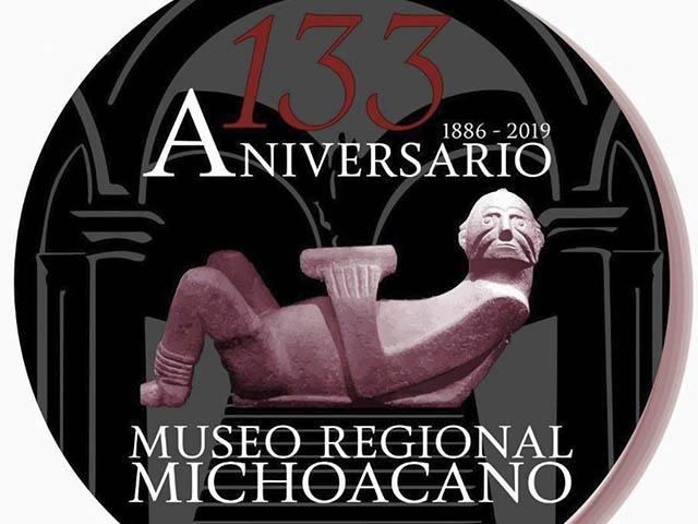 Mañana celebra el Museo Regional Michoacano su aniversario 133
