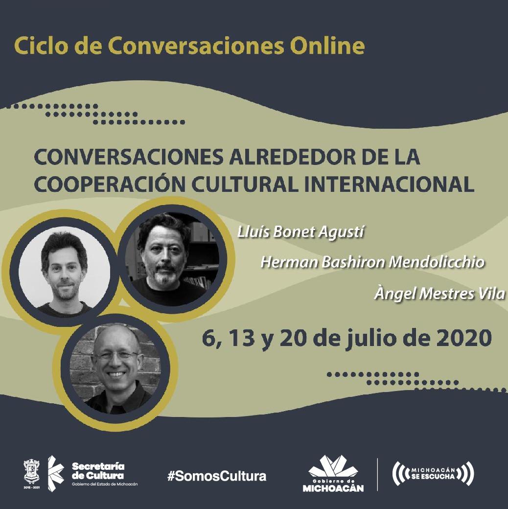 La Cooperación Cultural Internacional, tema de reflexión en el Centro Cultural Clavijero