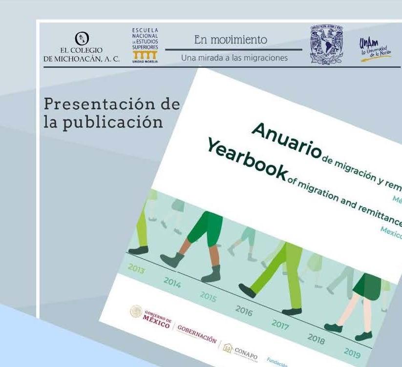 Será presentado el Anuario de migración y remesas 2019