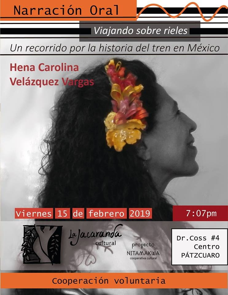 """Presentación del espectáculo """"Viajando sobre rieles, Hena Carolina"""""""