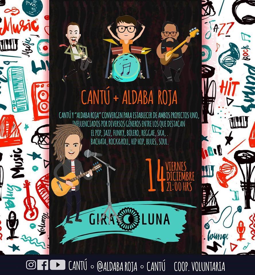 Cantú + Aldaba Roja en Giraluna