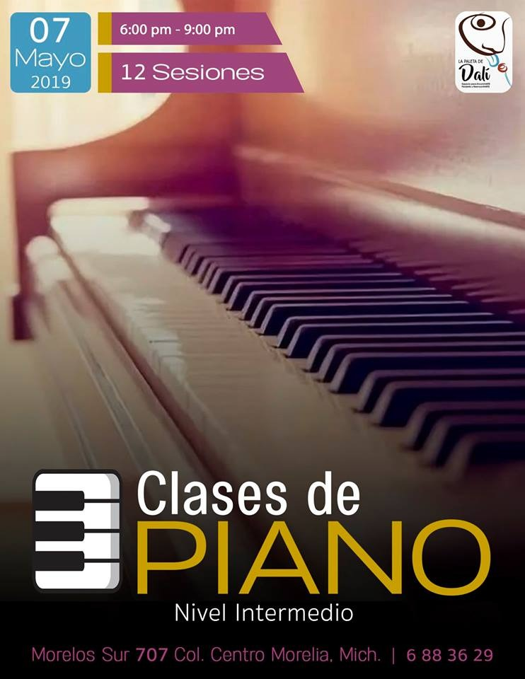 Curso de piano nivel intermedio