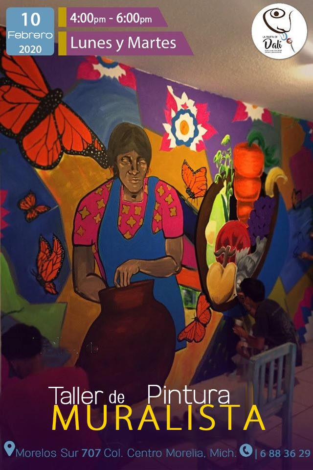 Comienza el Taller de Pintura Mural