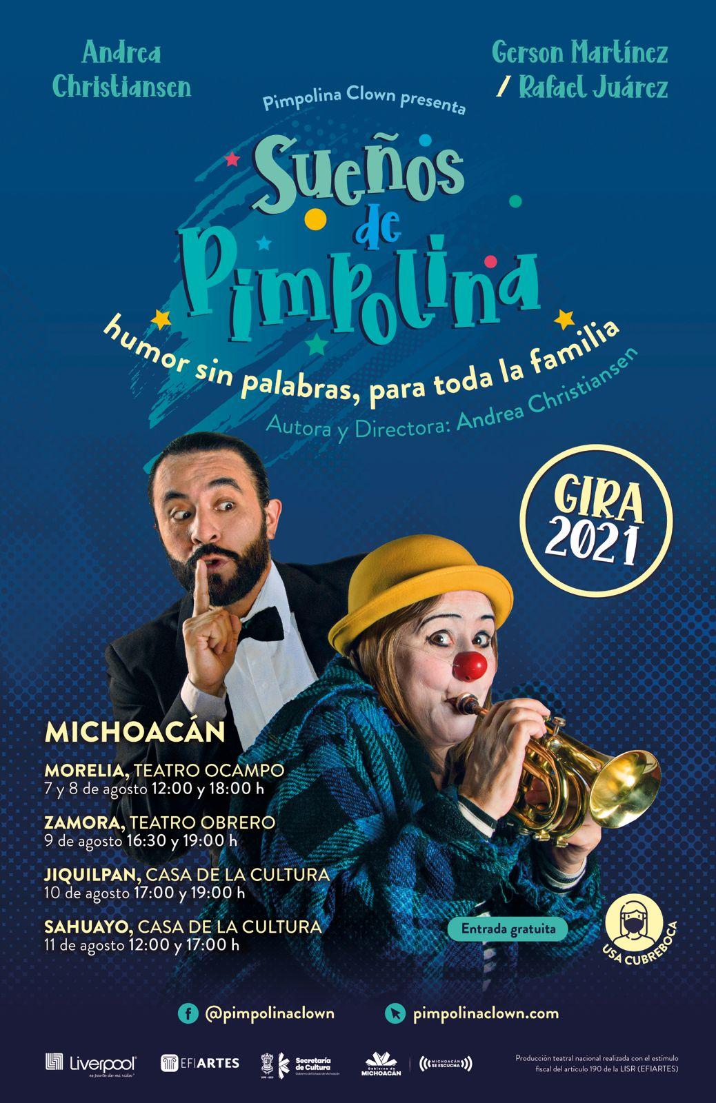 Los sueños de Pimpolina llegan a Michoacán