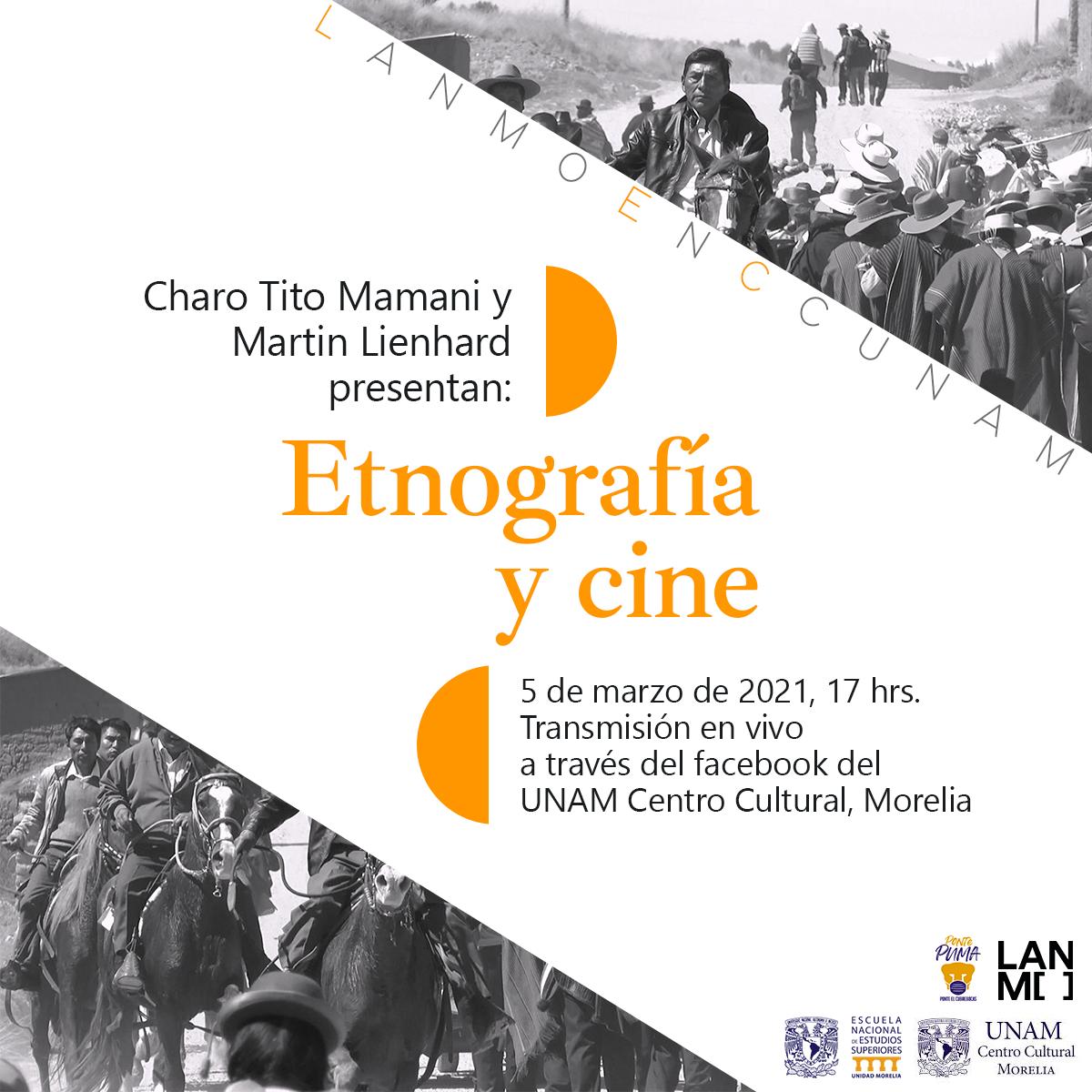 Etnografía y cine, en ciclo de confencias del LANMO