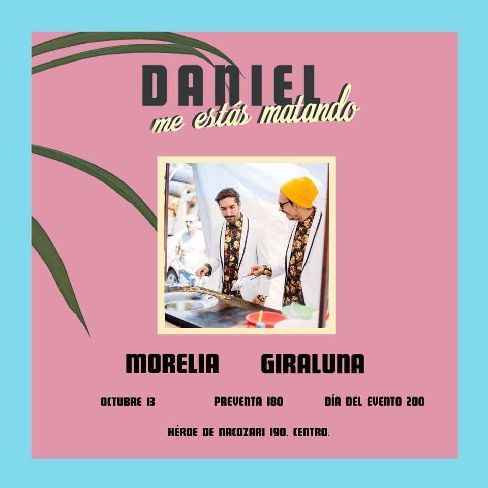 """Presentación de """"Daniel, me estás matando"""""""