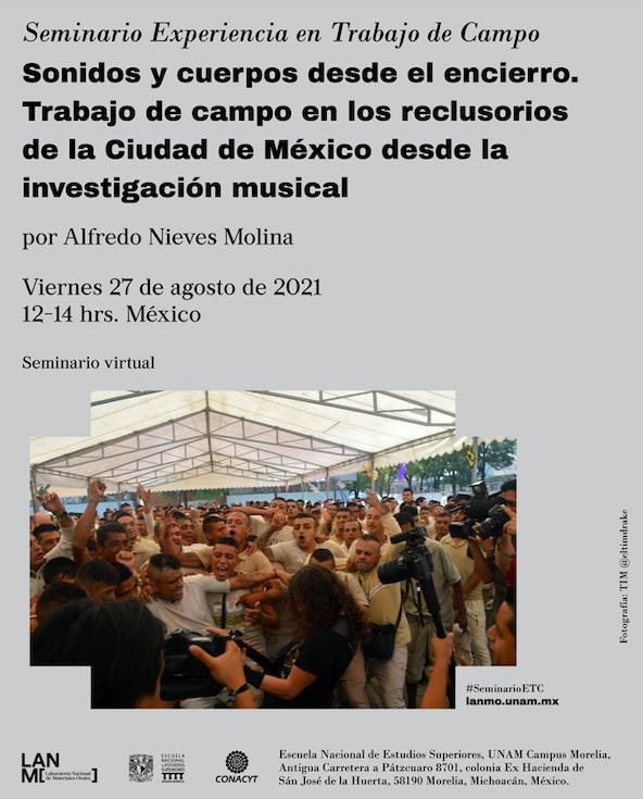 Sonidos y cuerpos desde el encierro, experiencia sensorial desde el Heavy Metal y el Slam con reclusos de Ciudad de México