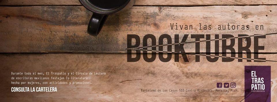 """Continúa el ciclo """"Booktubre"""""""