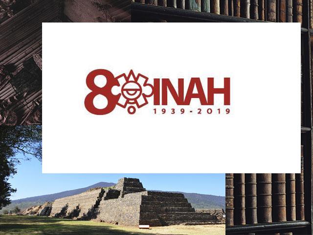 Invita el INAH a la celebración por su 80 Aniversario