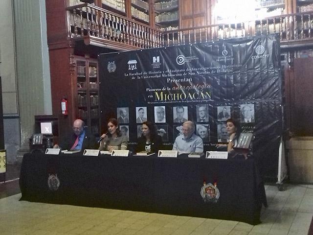 Un libro para valorar la antropología desarrollada en Michoacán