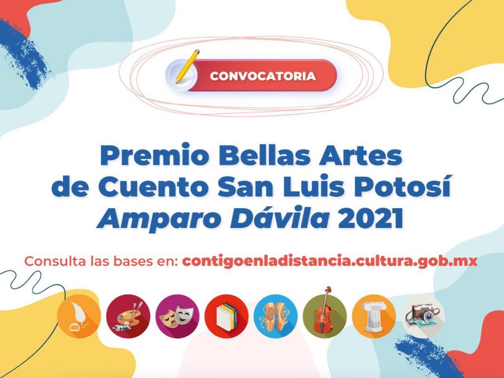 Abren convocatoria para el Premio Bellas Artes de Cuento San Luis Potosí Amparo Dávila 2021