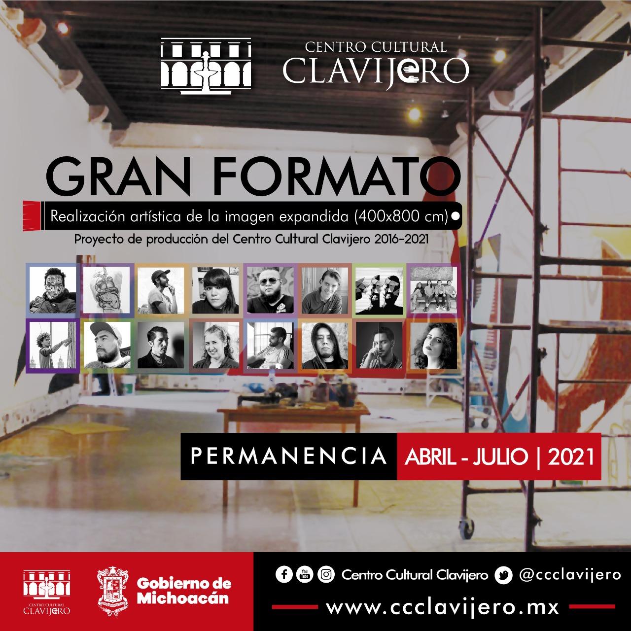 El Centro Cultural Clavijero celebrará el Día Internacional de los Museo con retrospectiva del proyecto Gran formato