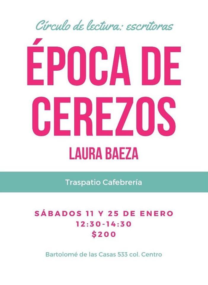 Se realizará la segunda sesión del Círculo de lectura: escritoras mexicanas