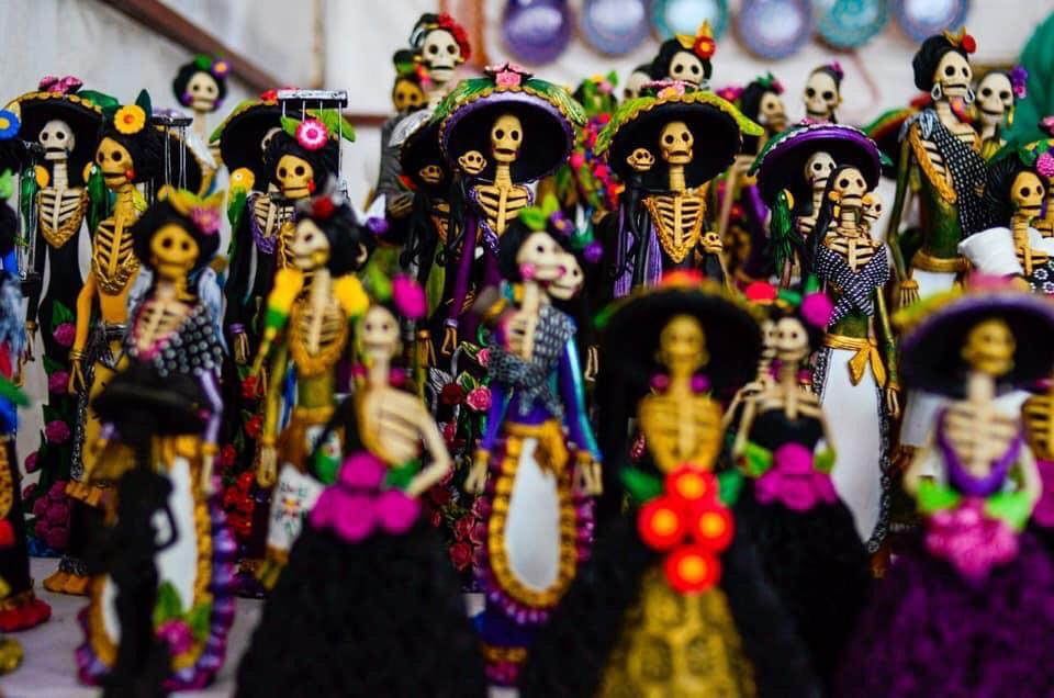 Fiesta, cultura, y magia, se conjuntaron en la Expo Feria de la Catrina