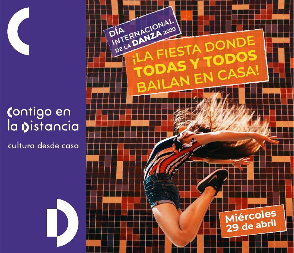 Celebración del Día Internacional de la Danza llegará a todos los hogares por internet