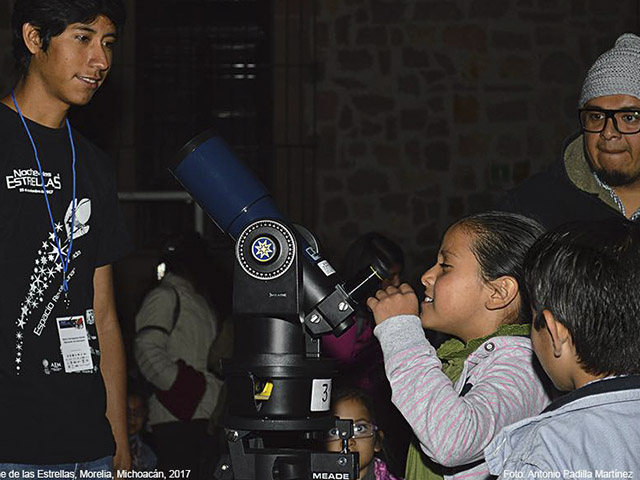 Día de Astronomía en las Escuelas: Astronomía para niñas y niños de todas las edades y condiciones