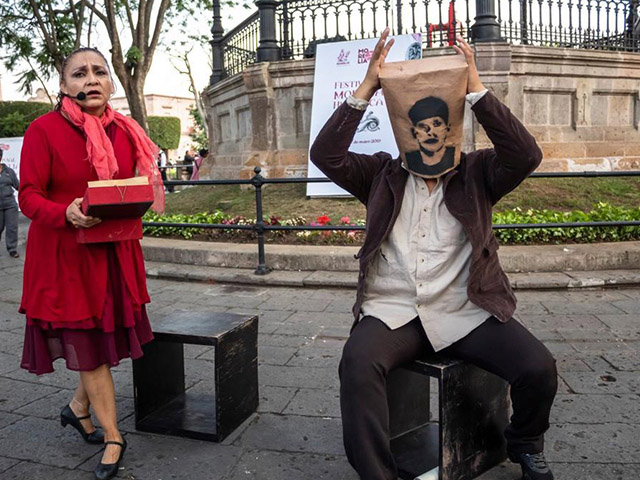 Barro Rojo se presentó en el Festival Morelia Histórica