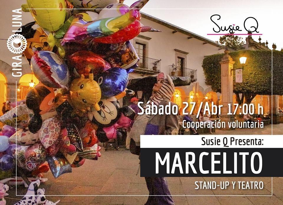 Presentación de Marcelito: show de stand-up y teatro