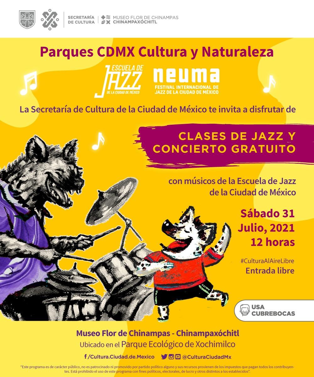 Amplia oferta de cultura comunitaria en plazas y parques de Ciudad de México