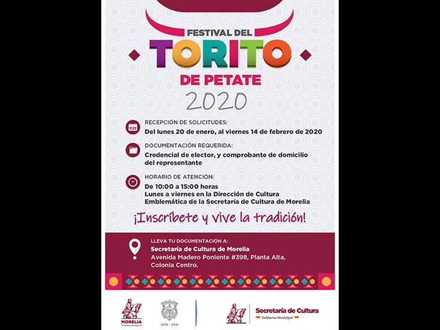 Abierta la inscripción para el Festival de Torito 2020