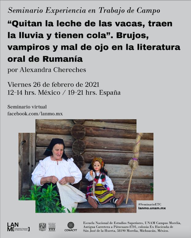 """""""Quitan la leche de las vacas, traen la lluvia y tienen cola"""". Brujos, vampiros y mal de ojo en la literatura oral de Rumanía"""