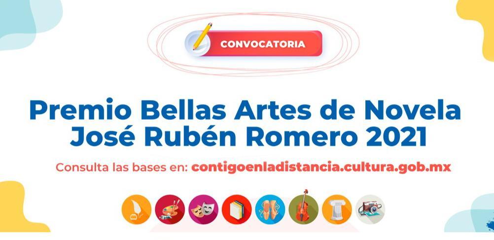 Abre la convocatoria al Premio Bellas Artes de Novela José Rubén Romero 2021