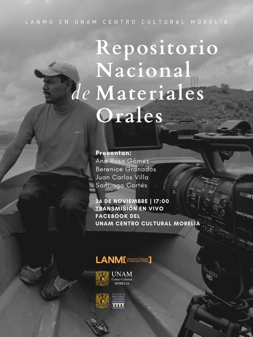 Presentarán Repositorio del LANMO en el Centro Cultural UNAM Morelia