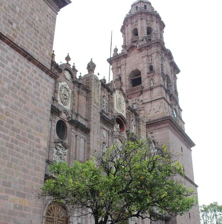 Darán conferencia sobre la Catedral de Morelia, la única dedicada a la Transfiguración de Cristo