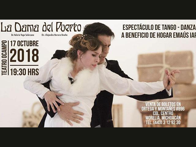 """""""La dama del Puerto"""" una historia de amor al ritmo del tango"""