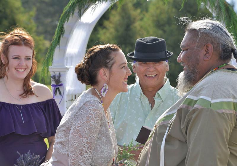 Únete a la boda entre un cheyene y una mujer blanca en Montana