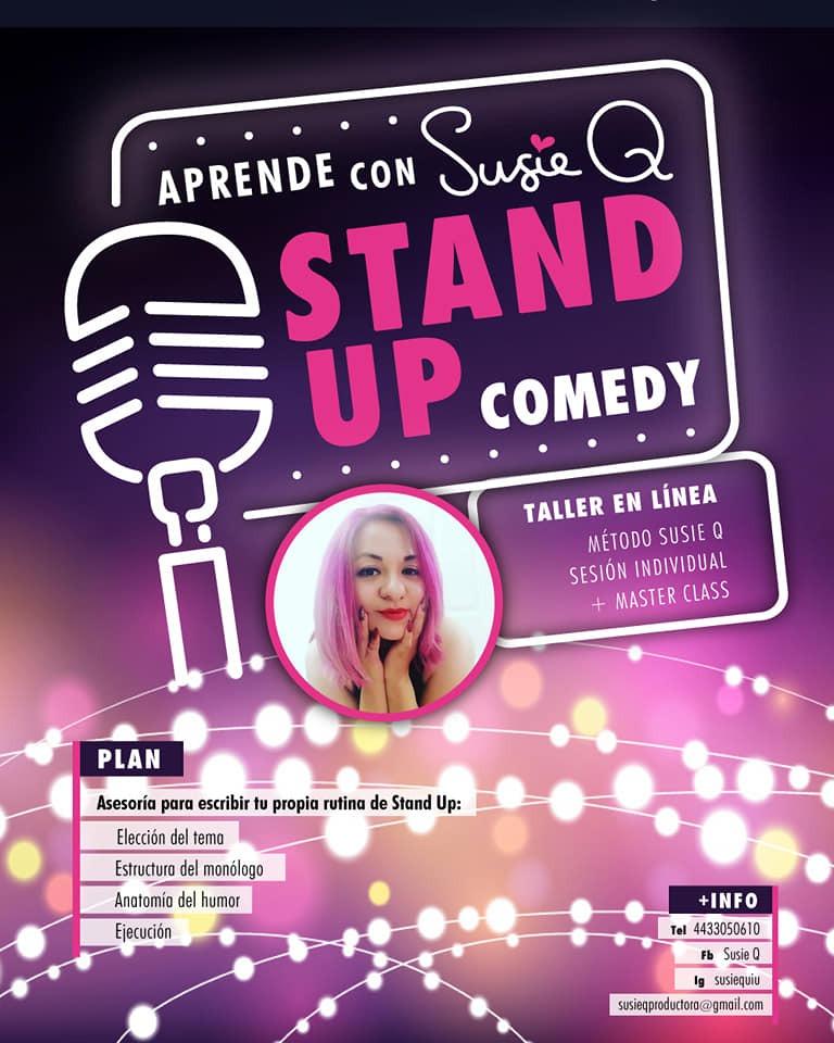 Curso en línea de stand up comedy