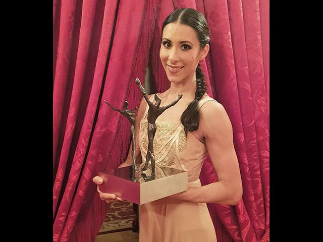 Elisa Carrillo gana el máximo premio mundial del ballet: el Benois de la Danza 2019