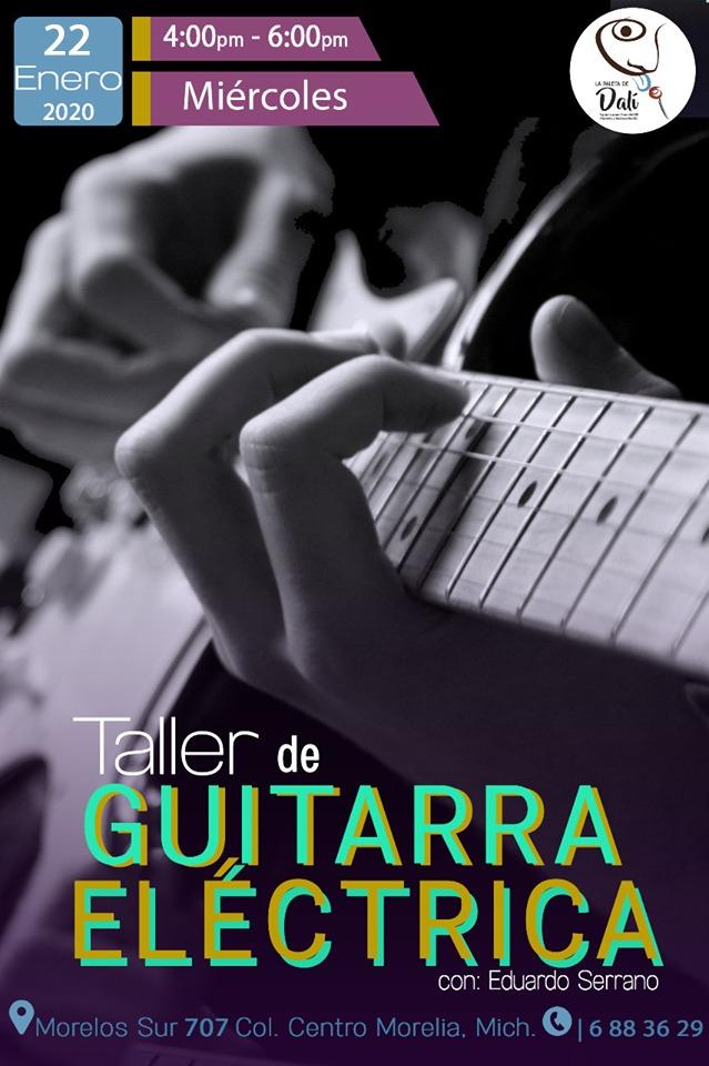 Comienza el Taller de guitarra eléctrica