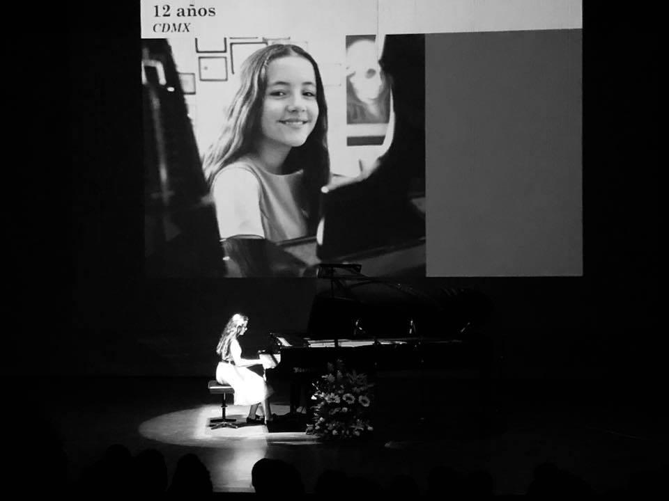 Gana María Hanneman primer lugar en Grand Prize Virtuoso