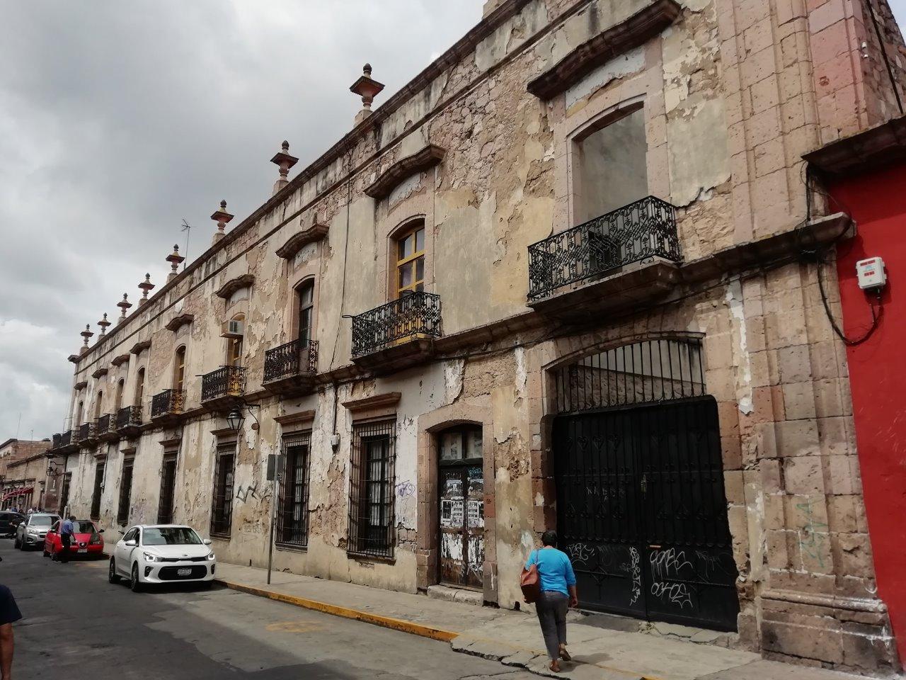 Requiere un nuevo rescate el centro histórico de Morelia