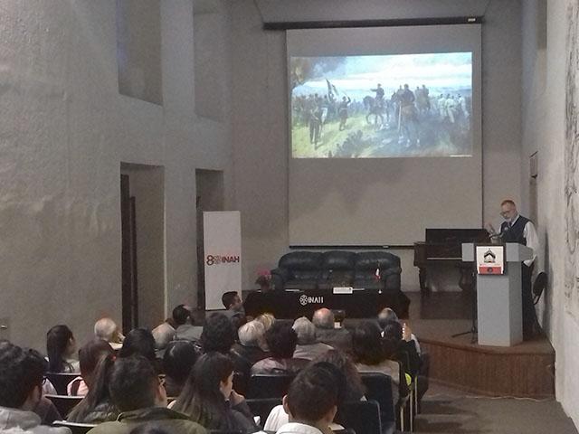 """Presentan la charla """"Antonio Arriaga y los muros narradores"""""""