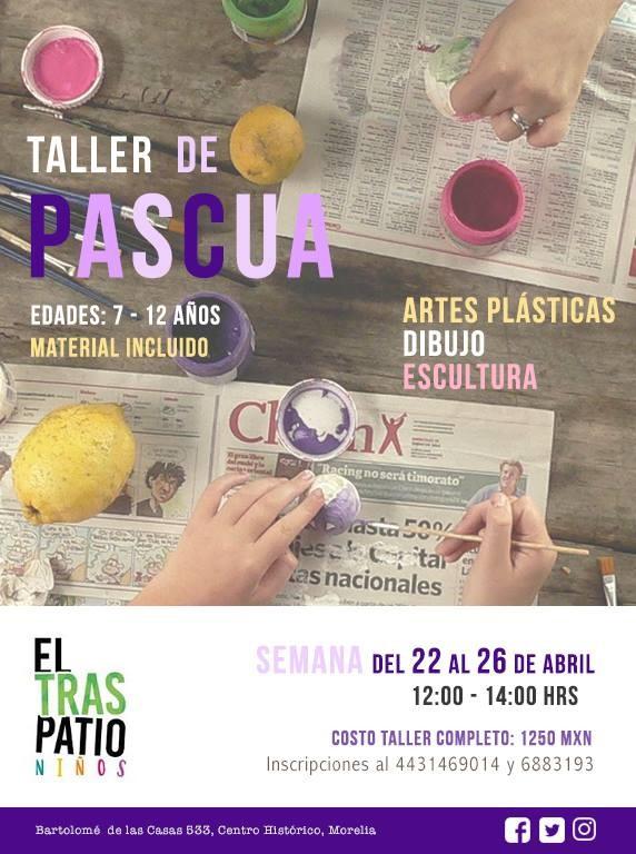 Taller de Pascua: Artes Plásticas + Escultura