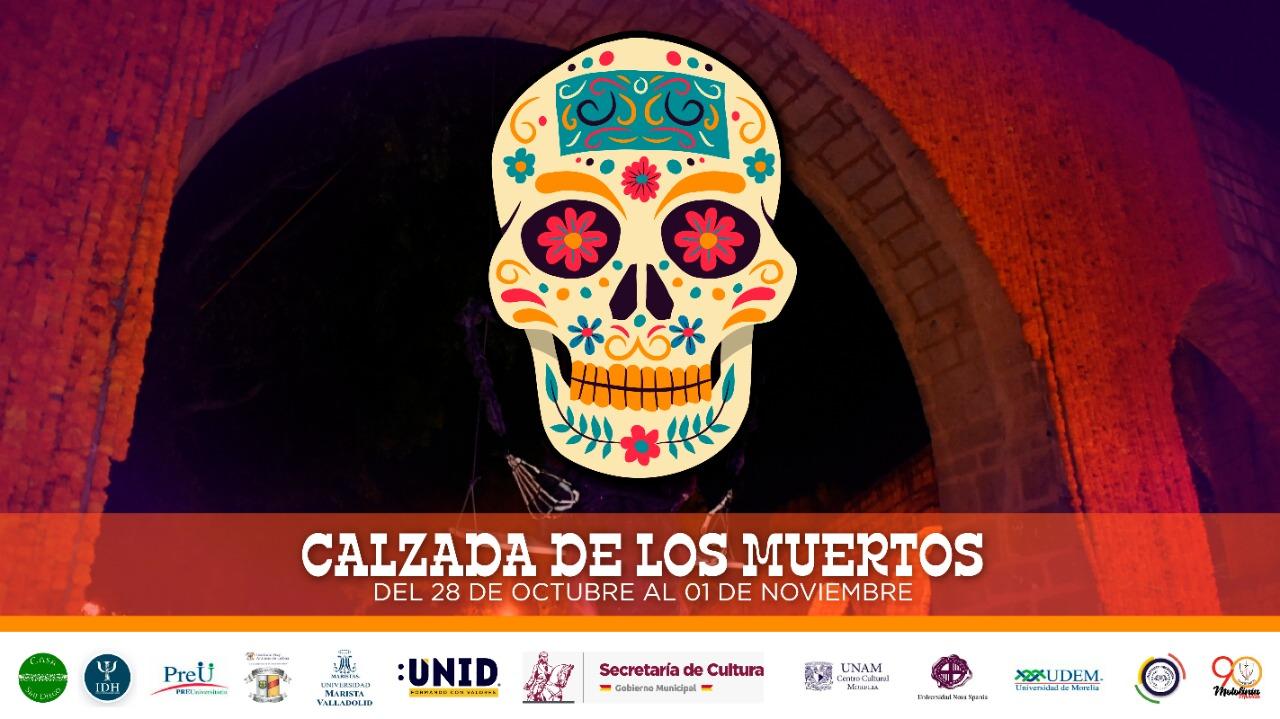 Calzada de los muertos: la celebración universitaria por la noche de los santos difuntos