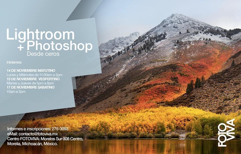 """Taller """"Lightroom y Photoshop desde Ceros"""""""