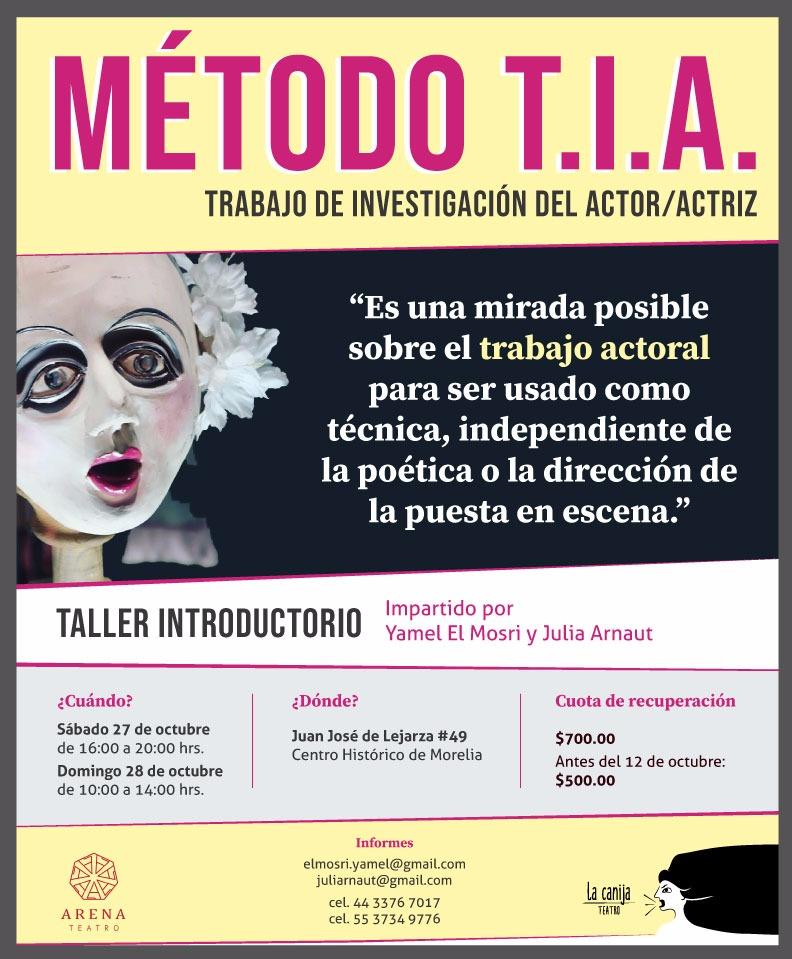 Trabajo de Investigación del Actor/Actriz (Método TIA