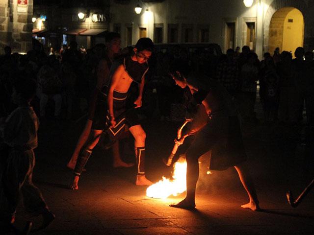 Entre la tradición y el misticismo, SeCultura exhibió el Uarhukua en el Centro de Morelia