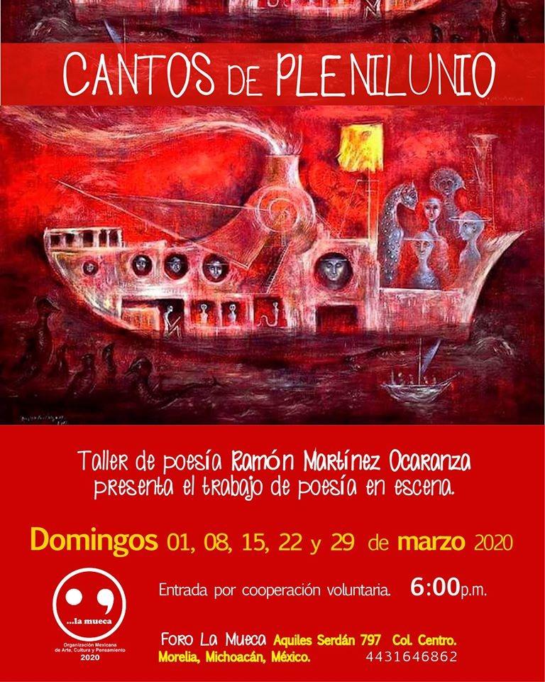 "Presentación de ""Cantos de Plenilunio"""