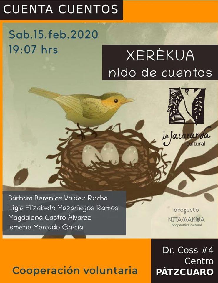 "Presentación de ""Xerékua nido de cuentos"""
