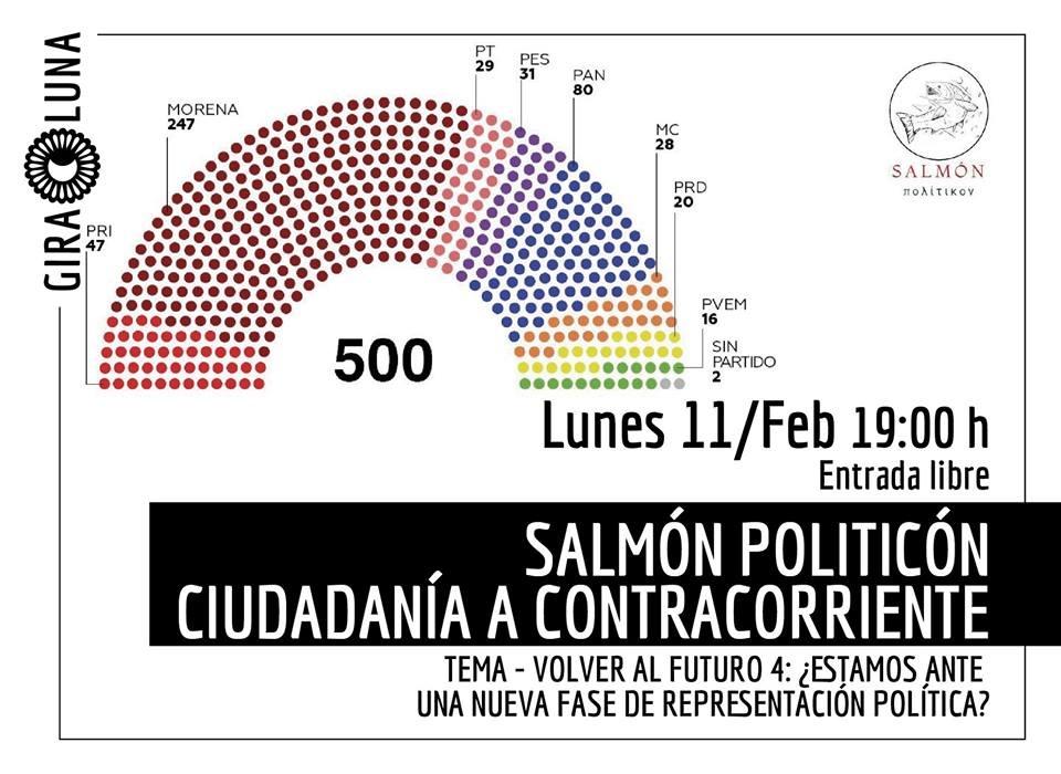 """Tercer Salmón Politicón, en esta ocasión tendrá el tema de """"Volver al futuro 4: ¿una nueva fase de representación política?"""""""