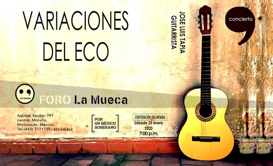 Variaciones del eco: concierto de guitarra