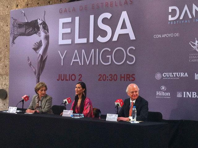 """Elisa Carrillo presenta """"Danzatlán. Festival Internacional de la Danza 2019"""""""
