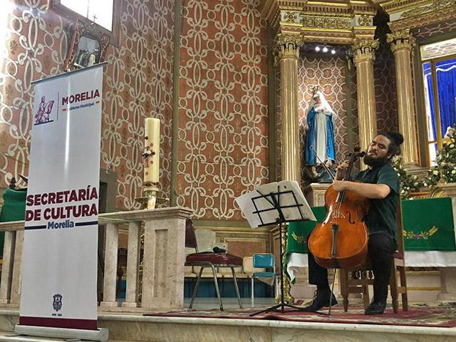 Abneir Jairo compartió su talento en Capula y San Nicolás Obispo